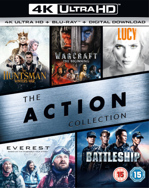4K Action Box Set - 4K Ultra HD Blu-ray voor €39,09