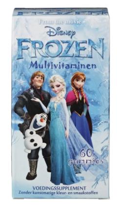 Disney Frozen Multivitaminen 60st voor €2,99