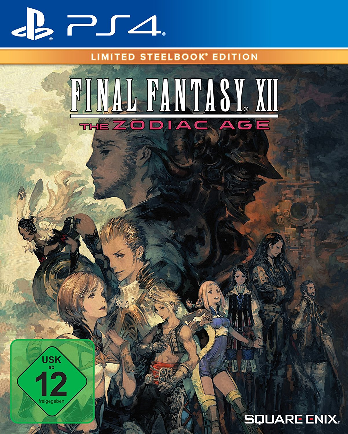 Final Fantasy XII The Zodiac Age - Limited Steelbook Edition voor €12,97