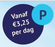 Parkeren vanaf €3,25 per dag