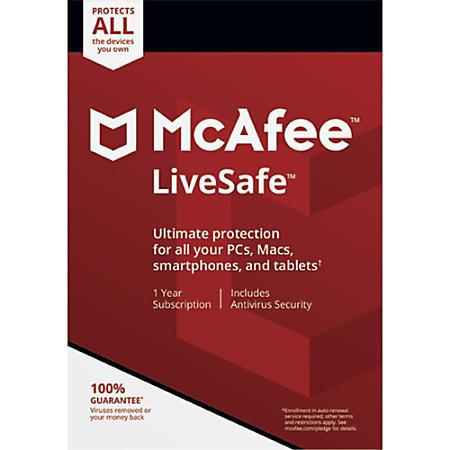 McAfee LiveSafe Gratis