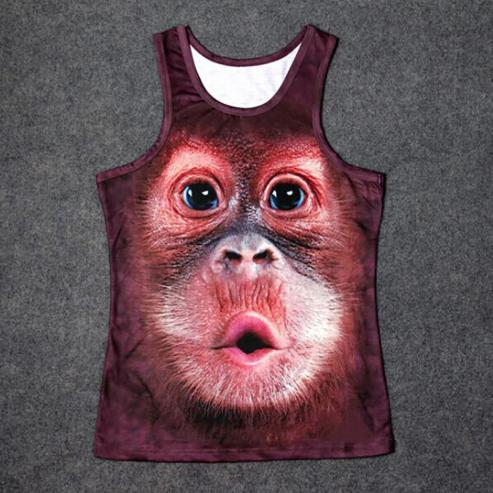 Singlet of shirt met aap vanaf €6,41 dmv coupon
