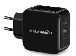 BlitzWolf30W Dual USB-oplader EU-adapter voor iphone 8 8 Plus iphone voor €8,45
