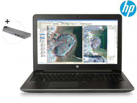 HP ZBook Mobile Workstation + Dock voor €1.099,95