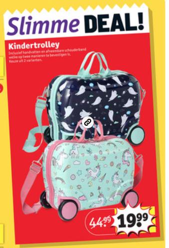 Trunki Trolley's Spookjesprint of Unicornprint voor €19,99