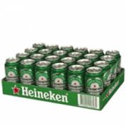 Tray Heineken bier 4 x 6 blikjes voor €10,99