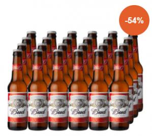 Diverse soorten bier of bierglazen tot 65% korting