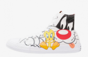 Converse All Stars Looney Tunes Silverster/Tweety kids sneakers voor €19,95