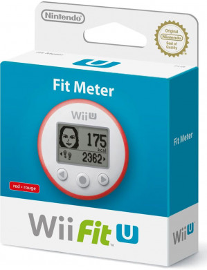 Wii Fit U Meter (Red) voor €9,95