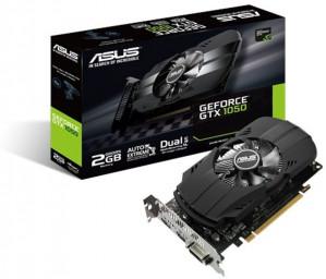 Asus Phoenix GeForce GTX 1050 2GB voor €128