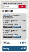 Couponcode Domino's voor 2e pizza gratis