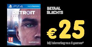 Become Human vanaf € 25 bij inlevering van twee PS4/XONE/Switch games
