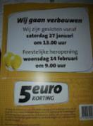 €5 korting bij de Jumbo in Utrecht