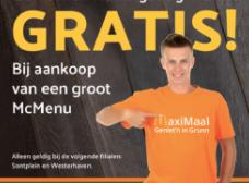 Gratis Koningsdag T-shirt  McDonald's (Groningen)
