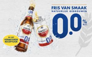 Gratis Amstel 0.0 door middel van cashback ipv