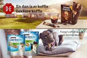 Probeer Gratis Douwe Egberts Espresso sticks en Purina® DentaLife dmv cashback