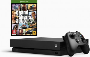 Xbox One X console + GTA V voor €477