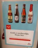 4 Flesjes bier gratis bij de De Standaard in België