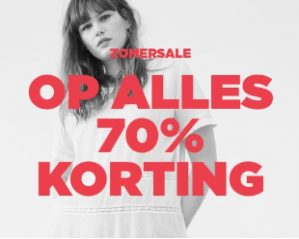 Mango Outlet Summersale kortingen 70%