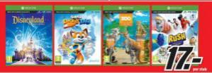 Diverse Xbox One games voor €17