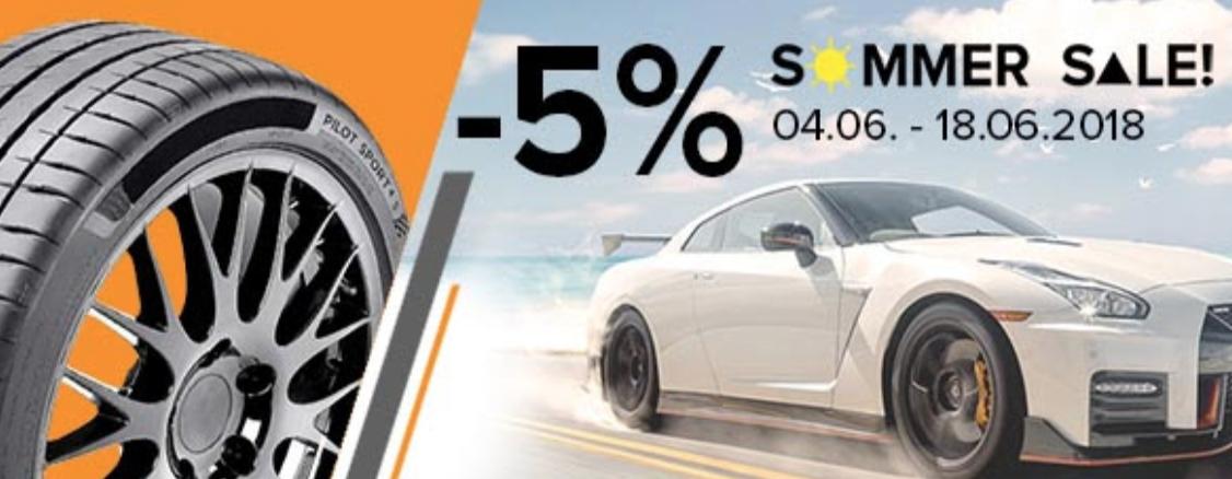 5% extra korting op de Summer Sale