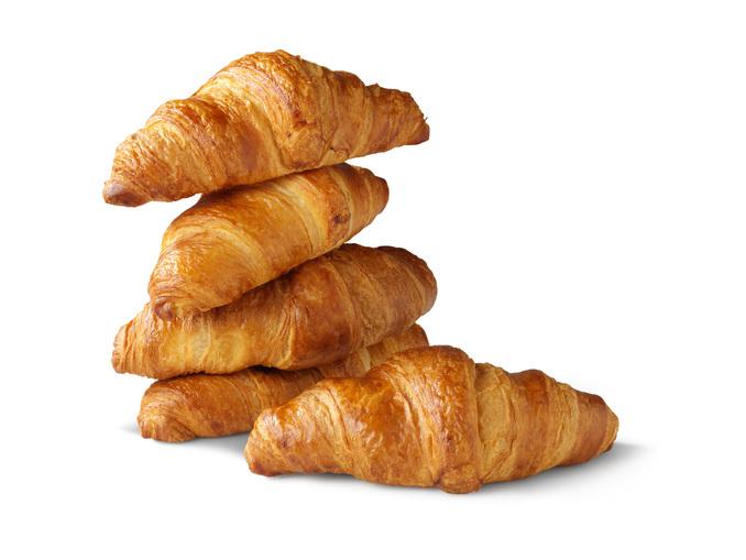 5 roomboter croissants voor €1