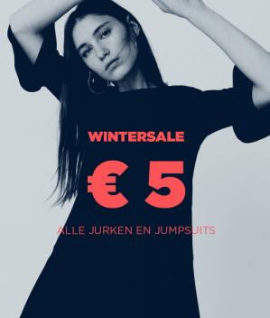 Alle jurken en jumpsuits voor €5
