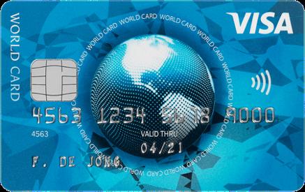 Visa Word Card met Gratis cadeau