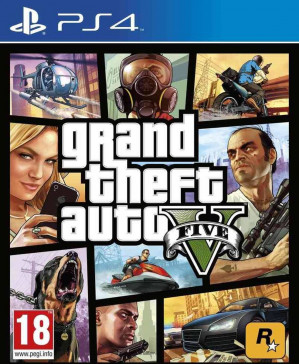 Grand Theft Auto V (GTA 5) - PS4 voor €24