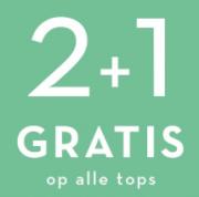 Miss Etam sale alle  tops 2+1 gratis ook op de sale
