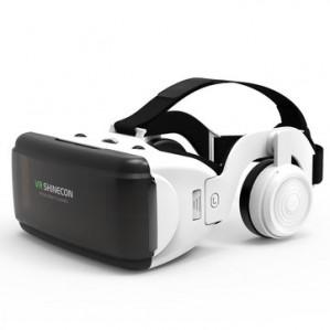 HI-FI 3d vr headset virtual reality vr bril met hoofdtelefoon voor €17