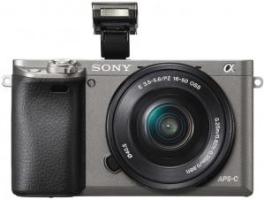 Sony Alpha A6000 Systeemcamera + 16-50mm Lens - Zilver voor €444,17