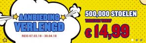 500.000 tickets vanaf €9,99
