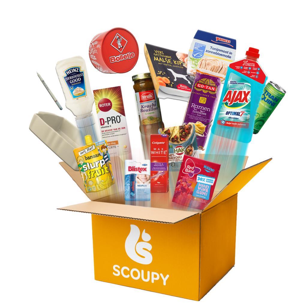 Goodiebag Topproducten Scoupy voor €14,95
