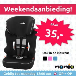 Nania autostoel voor €35