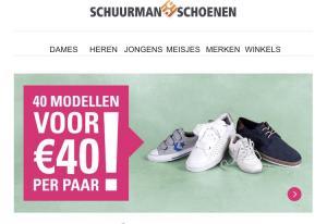 Diverse schoenen voor €40