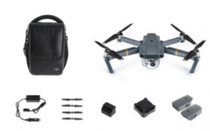 DJI Mavic Pro Fly More bundle voor €1.244 dmv code