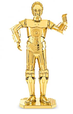 C-3PO robot Star Wars 3D Puzzel voor €2,98 dmv code