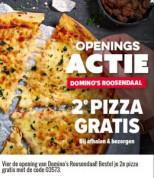 2e pizza gratis in Roosendaal