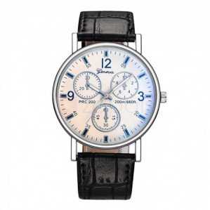 Kortingscode voor gratis Geneva Men's Quartz horloge ( EX €0,75 verzendkosten)