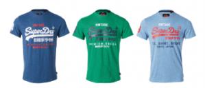 Superdry polo's en T-shirts vanaf €19,99