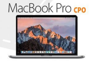 Apple MacBook Pro 2016 (CPO) 15 inch voor € 1899 + € 3,95 verzendkosten