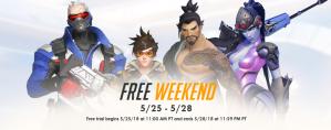 Overwatch Free weekend van 25 t/m 28 mei
