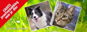 Vitakraft snack voor hond of kat Gratis