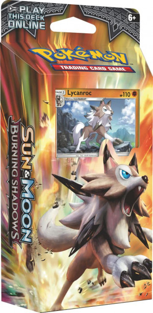 Pokémon Sun & Moon Burning Shadows Lycanroc voor €8,80