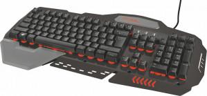 Trust GXT 850 Amba - Metalen Gaming Toetsenbord - Qwerty voor €34,94