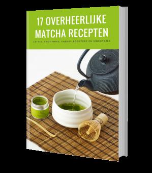 Vraag gratis een matcha receptenboekje aan