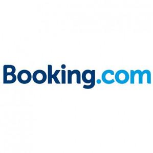 Bij een reservering bij Booking.com €33,30 retour