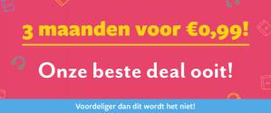 3 maanden Bookchoice voor €0,99
