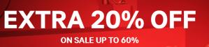 H&M sale met 20% extra korting op de sale tot 60%